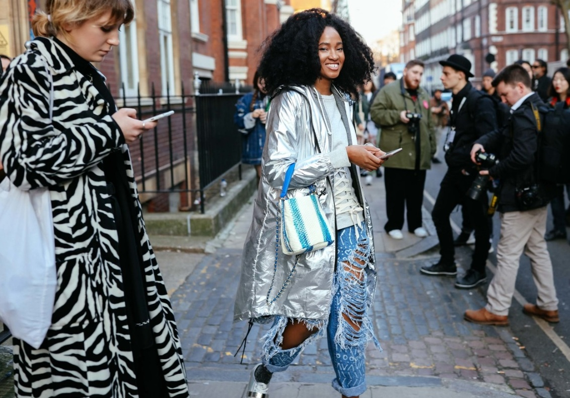 London Fashion Week 2017 - Street Style - vogparty